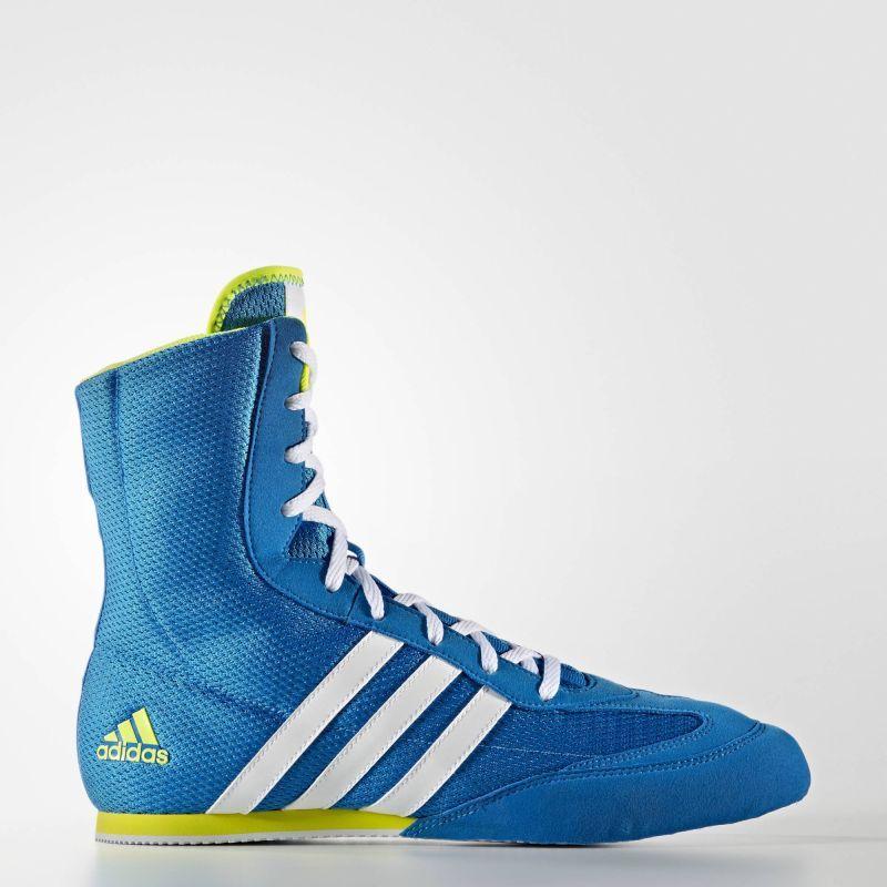 newest a44d4 1eb4d ... Scarpe da boxe Adidas Box Hog 2 Blu ...