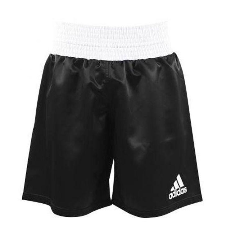 Pantaloncini boxe Adidas ADISMB01 Nero   Bianco   Spedizione Gratuita 137710dc3696