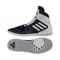 Scarpe da boxe Adidas Flying Impact black / white