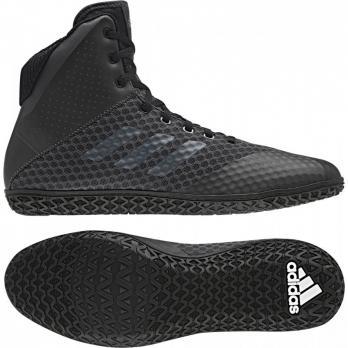 Scarpe da boxe Adidas Mat Wizard 4 Carbono Nero