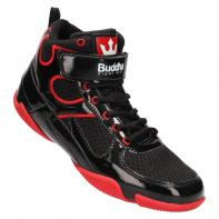 Scarpe da boxe Buddha One dark black / red