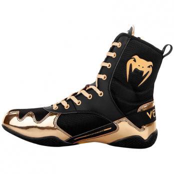 Scarpe Da Boxe Venum Elite Nero / Oro