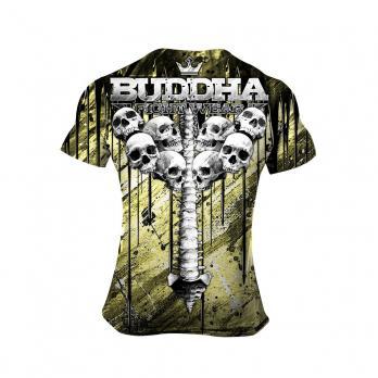 Maglietta Buddha Skulls