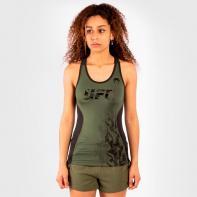 Maglietta Venum UFC Authentic Fight Week Khaki da donna