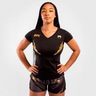 T-shirt Venum X UFC Champion da donna nera