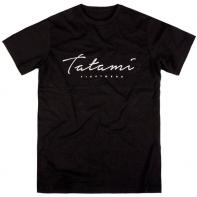 Maglietta Tatami  Script black
