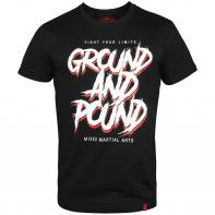 Maglietta Venum Ground And Pound Nero