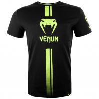 Maglietta Venum Logos black/neo yellow