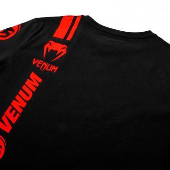 Maglietta Venum Logos nero / rosso