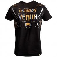 Maglietta Venum Oktagon black/gold-silver