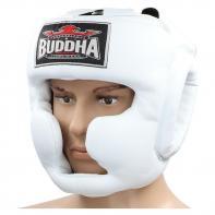 Caschetto Buddha training Thailand white
