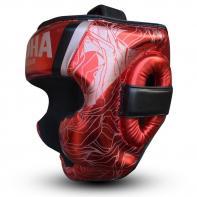 Casco da boxe Buddha Galaxy rosso