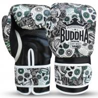 Guantoni da boxe Buddha messicano nero