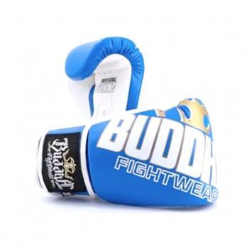 Guantoni da boxe Buddha Millenium blu / bianco