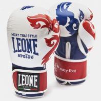 """Guantoni da boxe Leone  """"Muay Thai"""" white"""