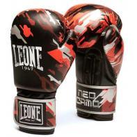 Guantoni da boxe Leone Neo Camo rosso