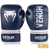 Guantoni da boxe Kids Venum Signature navy blue