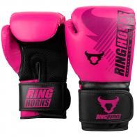 Guantoni da boxe Ringhorns Charger MX Pink By Venum