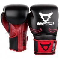 Guantoni da boxe Ringhorns Destroyer black/red By Venum