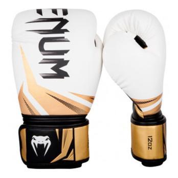 Guantoni da boxe Venum Challenger 3.0 Bianco / Nero / Oro