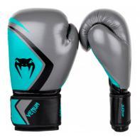 Guantoni da boxe Venum Contender 2.0 Grey/Turquoise-Black