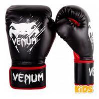 Guantoni da boxe Venum Contender bambino nero / rosso