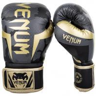 Guantoni da boxe Venum Elite Dark Camo / Gold