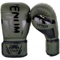 Guantoni da boxe Venum Elite khaki/black