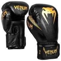 Guantoni da boxe Venum Impact black/gold
