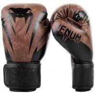 Guantoni da boxe Venum Impact black/brown