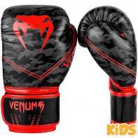 Guantoni da boxe Kids Venum Okinawa 2.0 black / red
