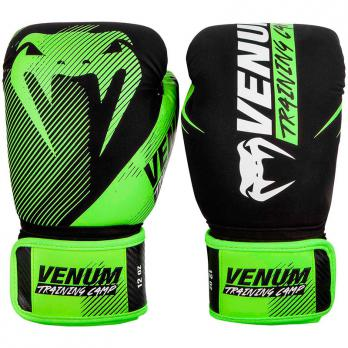 Guantoni da boxe Venum Training Camp 2.0 Black/Neo Yellow