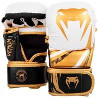 Guanti MMA Venum Challenger 3.0 Sparring Bianco / Oro