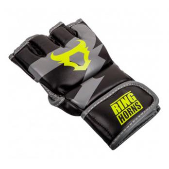 Guanti MMA Ringhorns Charger Black Neo Yellow By Venum