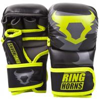 Guanti MMA Ringhorns Charger Sparring Neo Yellow  By Venum