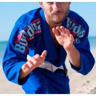 Kimono BJJ Buddha DeLuxe blu