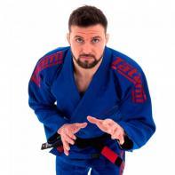 Kimono BJJ Tatami Estilo 6.0 blue / burgundy