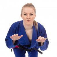 Kimono BJJ Tatami The Original Ladies blu