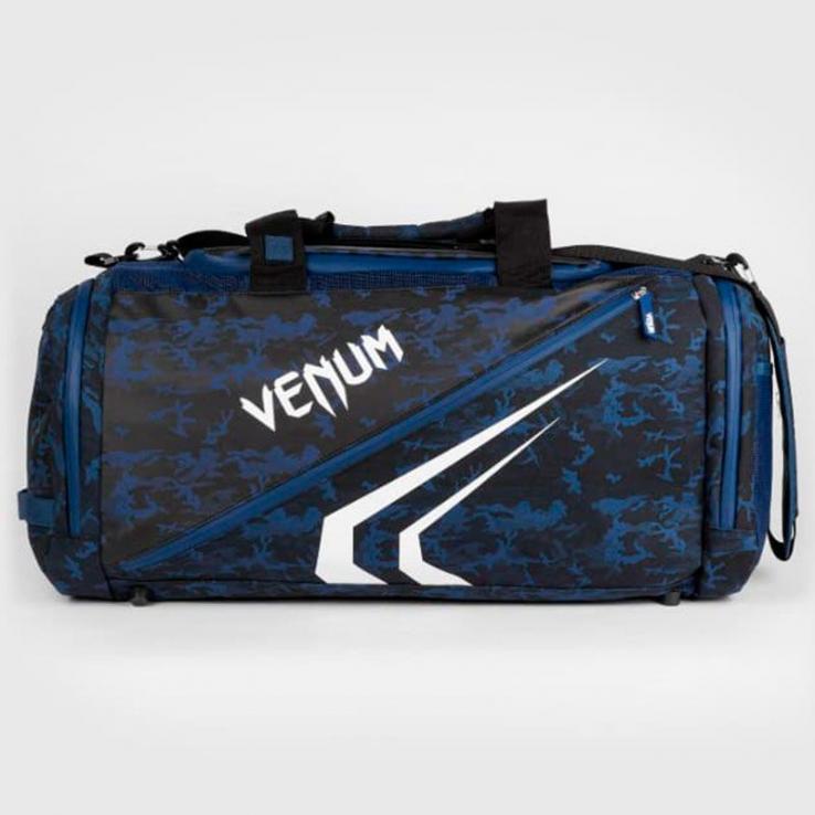 Borsa sportiva Venum Trainer Lite Evo bianco / blu