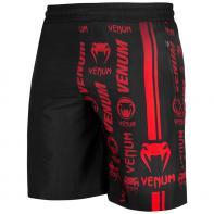 Pantaloncini Fitness Venum Logos nero / rosso