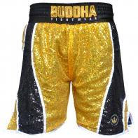 Pantaloncini Boxe Buddha Fanatik golden