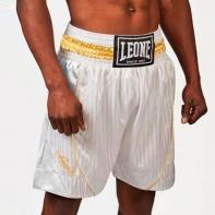 Pantaloncini boxe Leone Premium bianco