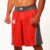 Pantaloncini boxe Leone Corner red