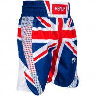 Pantaloncini Boxe Venum Elite UK Blue / Red-White