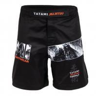 Pantaloncini MMA Tatami Tropic Black Grappling Shorts