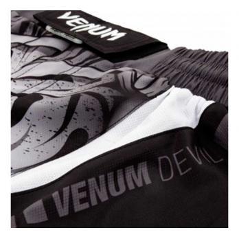 Pantaloncini MMA Devil  Bianco / Nero