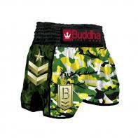 Pantaloncini  Muay Thai Buddha  Retro Army Jungle