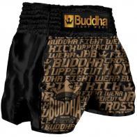 Pantaloncini  Muay Thai Buddha Retro Golden