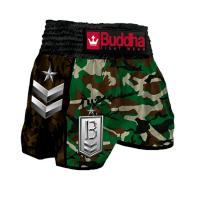 Pantaloncini  Muay Thai Buddha  Retro Army Green Classic bambini