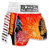 Pantaloncini  Muay Thai Buddha Retro Koi